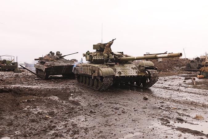 После четырехмесячного «бодания» оборона украинских позиций у Никишино была вскрыта. Фото: Александр КОЦ, Дмитрий СТЕШИН
