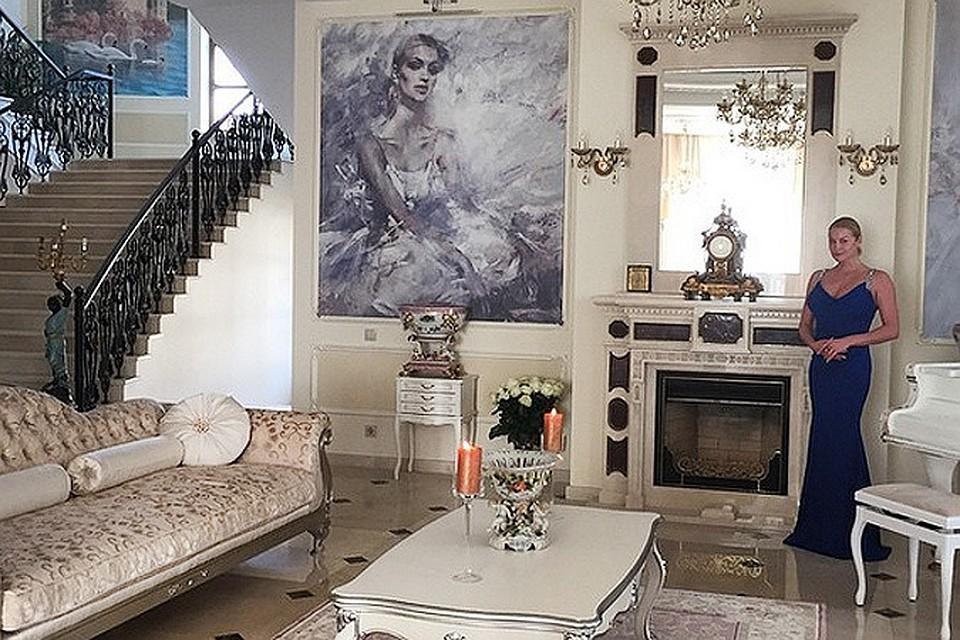 Новый дом волочковой в подмосковье фото