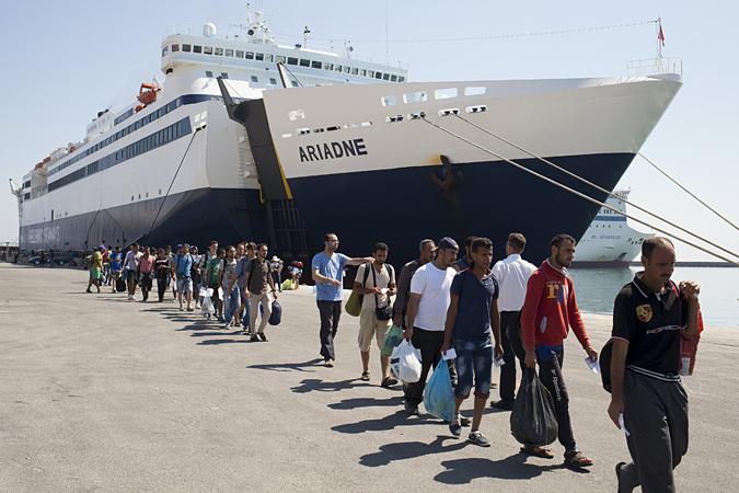 Количество беженцев и нелегальных мигрантов в Европе уже достигло рекордных значений конца Второй мировой войны