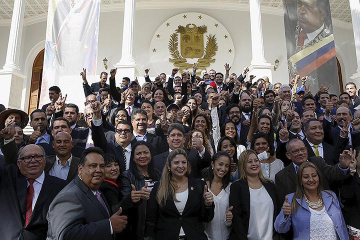 В Венесуэле начал работу парламент нового созыва