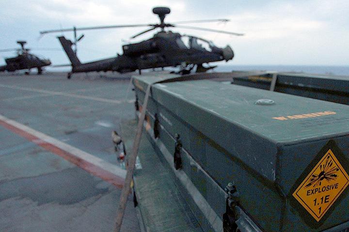 Ракета Hellfire оказалась среди прочих грузов, отправленных в Гавану.