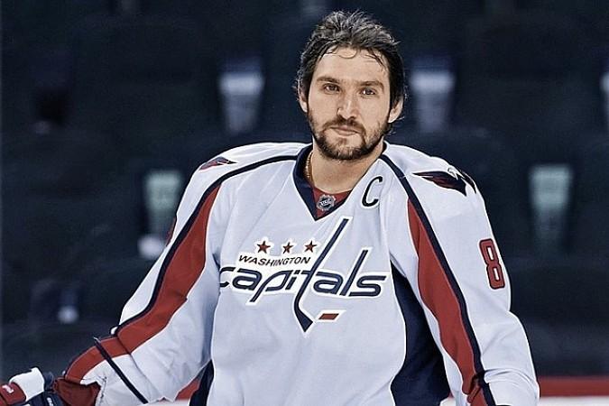 Российский хоккеист Александр Овечкинп ровел свой 800-й матч в регулярных чемпионатах НХЛ