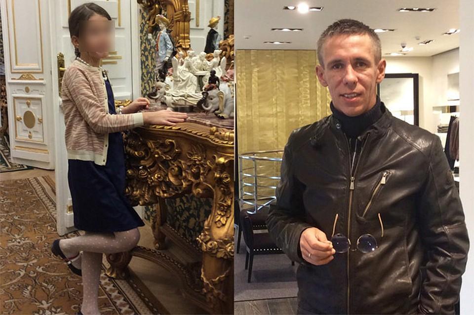 Алексей Панин и его дочь Нюся. Фото - из личного архива Алексея Панина