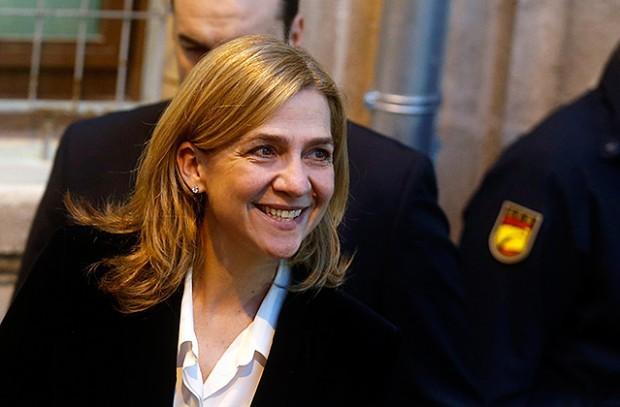 В суде Пальмы-де-Мальорки начинается процесс над инфантой Кристиной де Бурбон