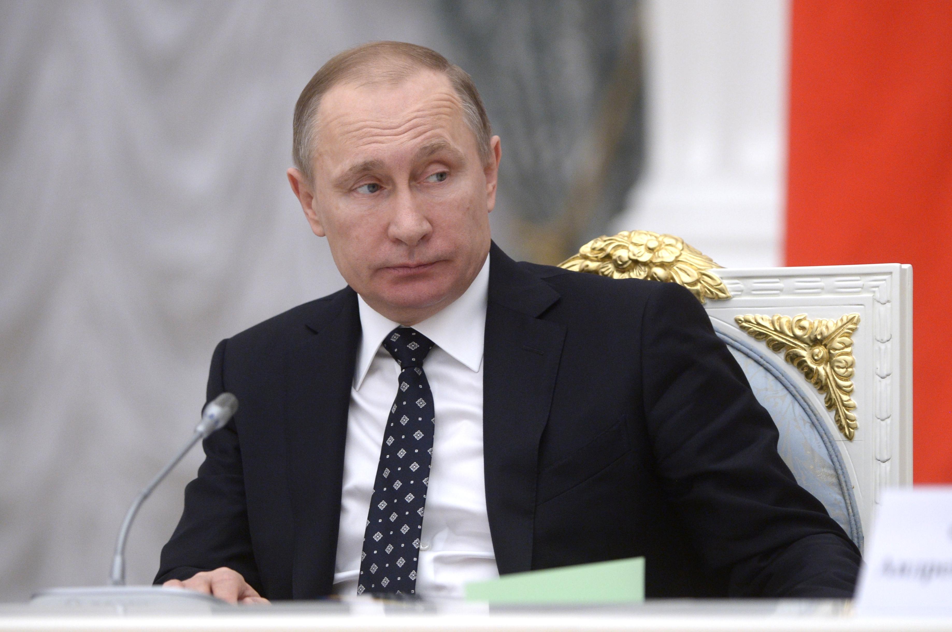 21 января 2016. Президент России Владимир Путин проводит заседание Совета по науке и образованию в Кремле.