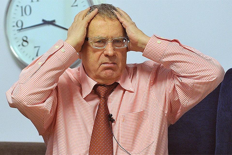 Коллекторы обвинили Жириновского в задолженности.