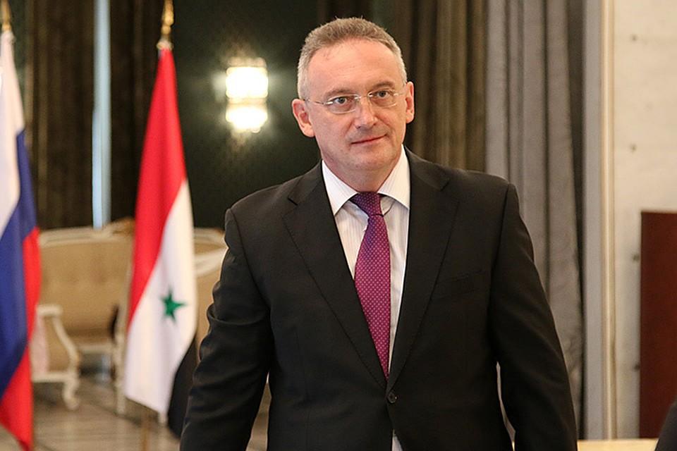 Александр Кинщак - посол РФ в Сирийской Арабской республике