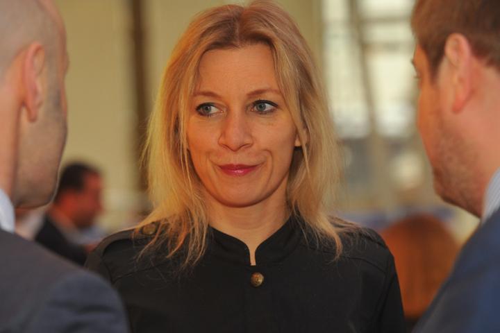 """Мария Захарова придумала новый анекдот """"про немца, русского и англичанина"""""""