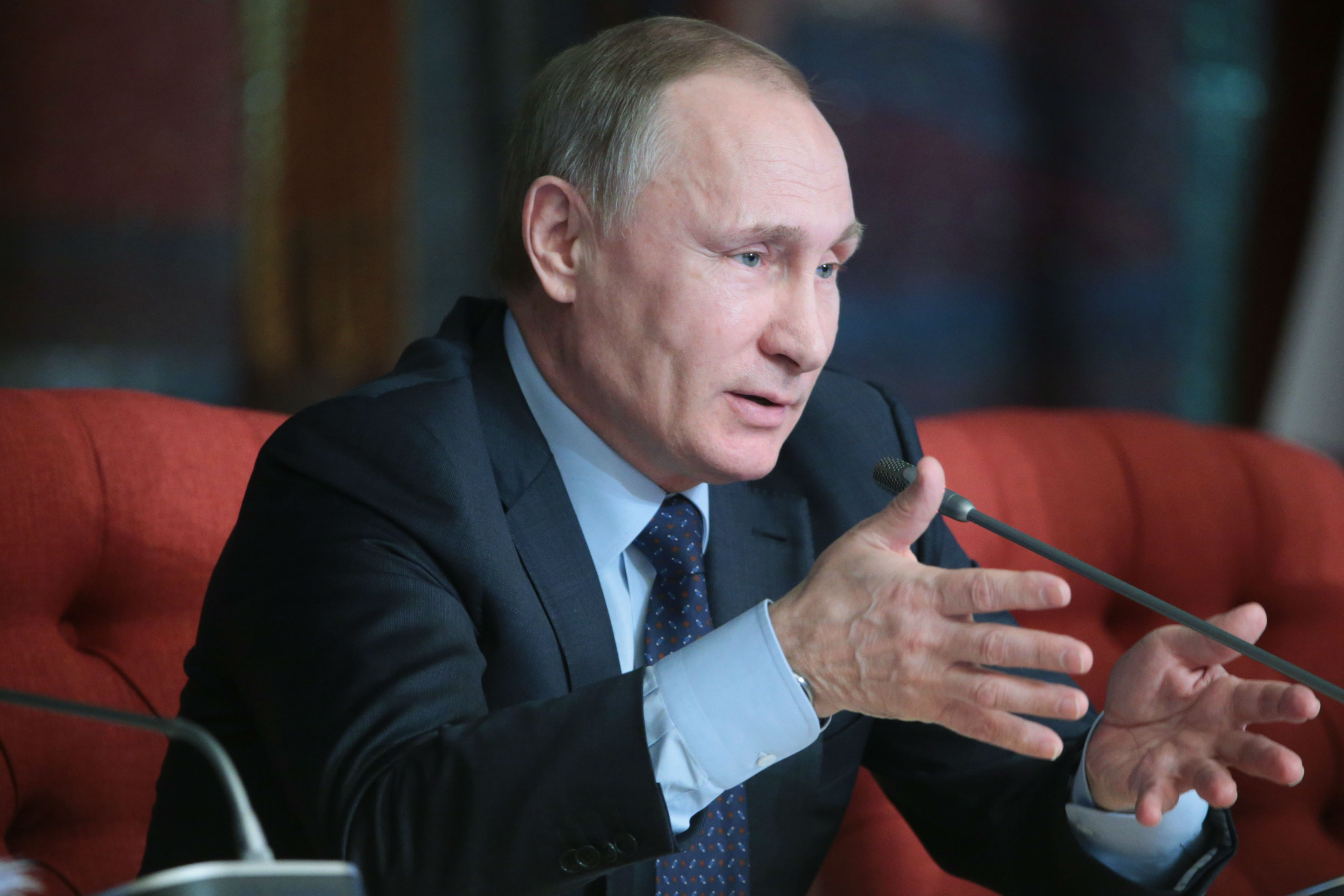 Президент России Владимир Путин заявил, что они с президентом США Бараком Обамой одобрили прекращение огня в Сирии с 27 февраля. Фото: Михаил Метцель/ТАСС