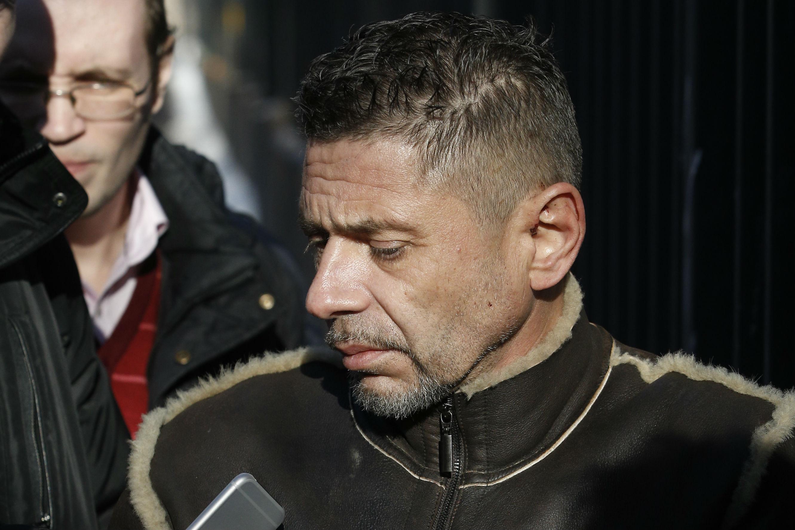 Актер Николаев доставлен в спецприёмник для отбывания наказания за ДТП. Фото: Александр Щербак/ТАСС