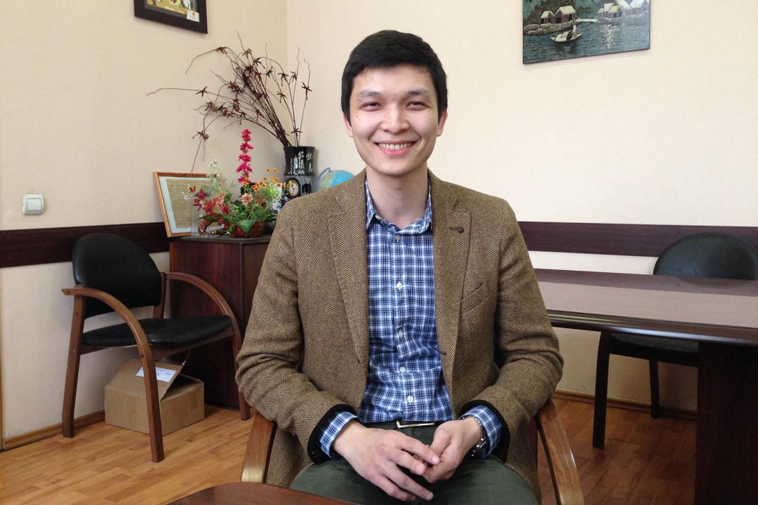 Аспирант кафедры электротехники и электрооборудования МАДИ Бауржан Оспанбеков.