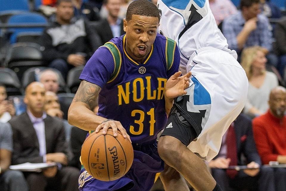 Баскетболист клуба НБА «Нью-Орлеан Пеликанс» Брайс Дежан-Джонс
