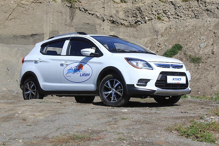 Самая популярная китайская автомобильная марка в России - Lifan.