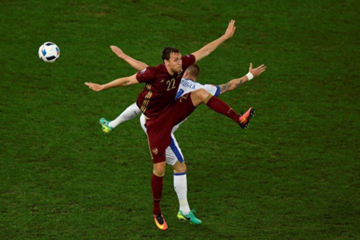 Игра россиян порой напоминала балет. Фото: uefa.com.