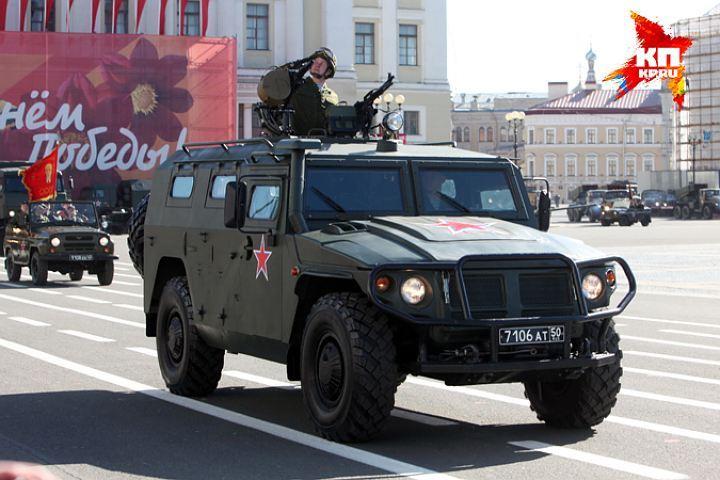 На Дворцовой покажут военную технику