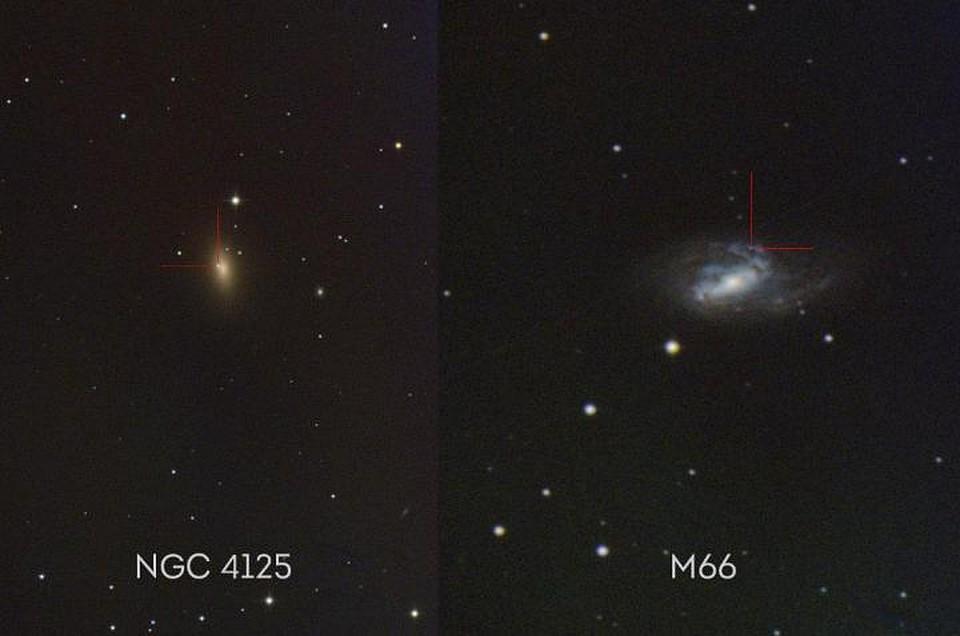 Новосибирские ученые сфотографировали вспышки 2-х сверхновых звезд