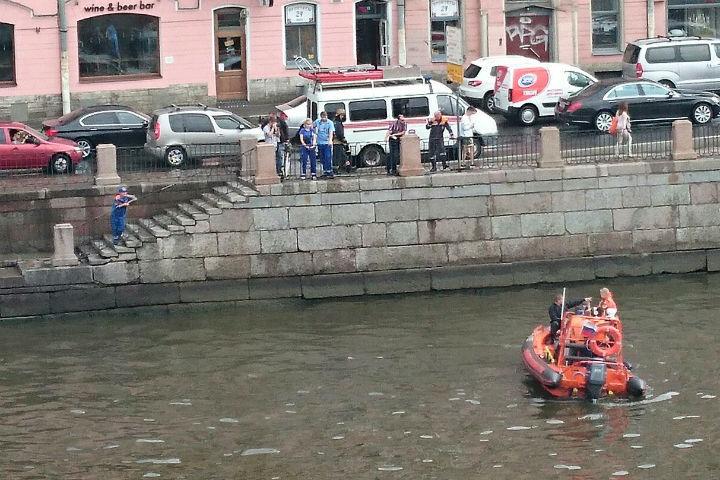 В Фонтанке утонул мужчина Фото: Мария Балашова (ДТП и ЧП)