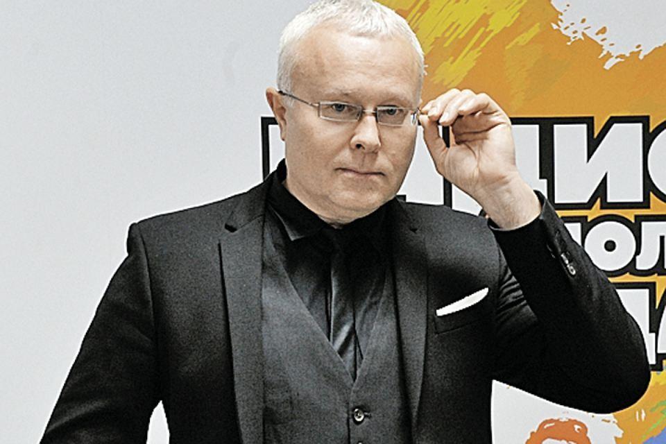 "Александр Лебедев в редакции ""Комсомолки"""