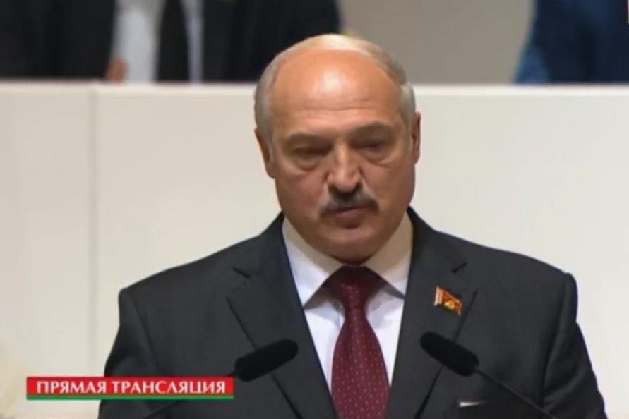 Лукашенко на Всебелорусском собрании поблагодарил руководителей БССР. Фото: скриншот видео