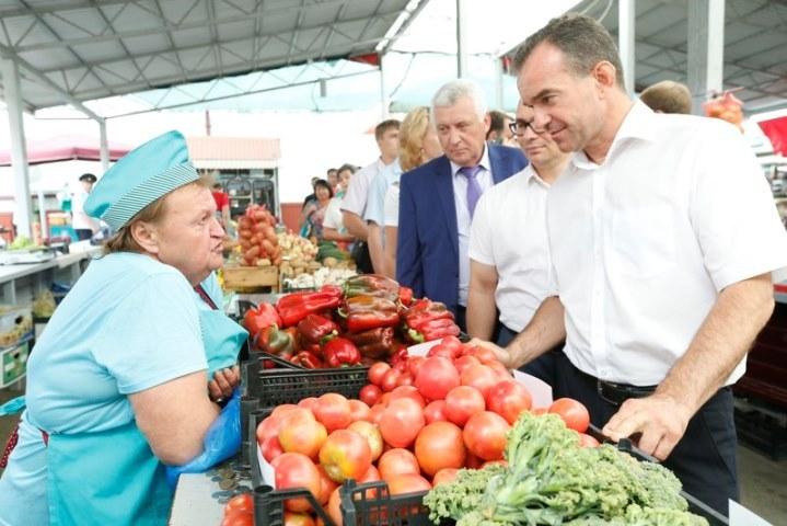 Вмагазинах Кубани расширят ассортимент здешней продукции до50%