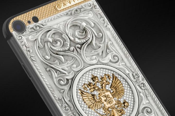 Caviar «оденет» новый iPhone 7 вмрамор изолото