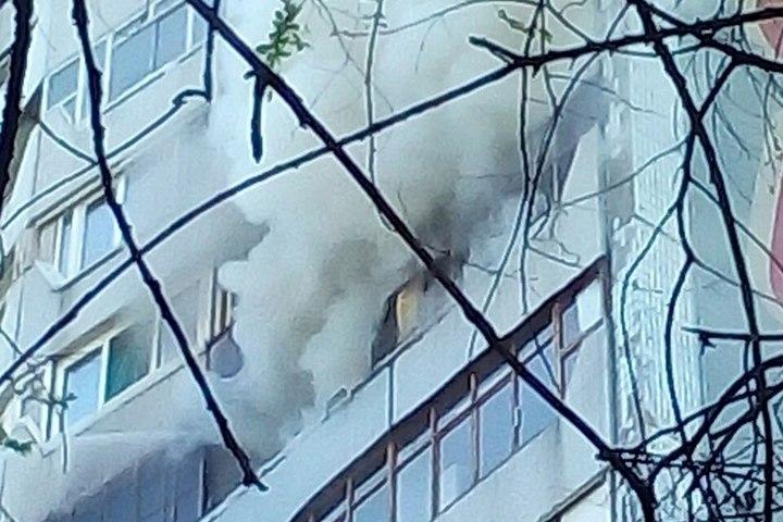 Напожаре вкузбасском селе погибли два человека
