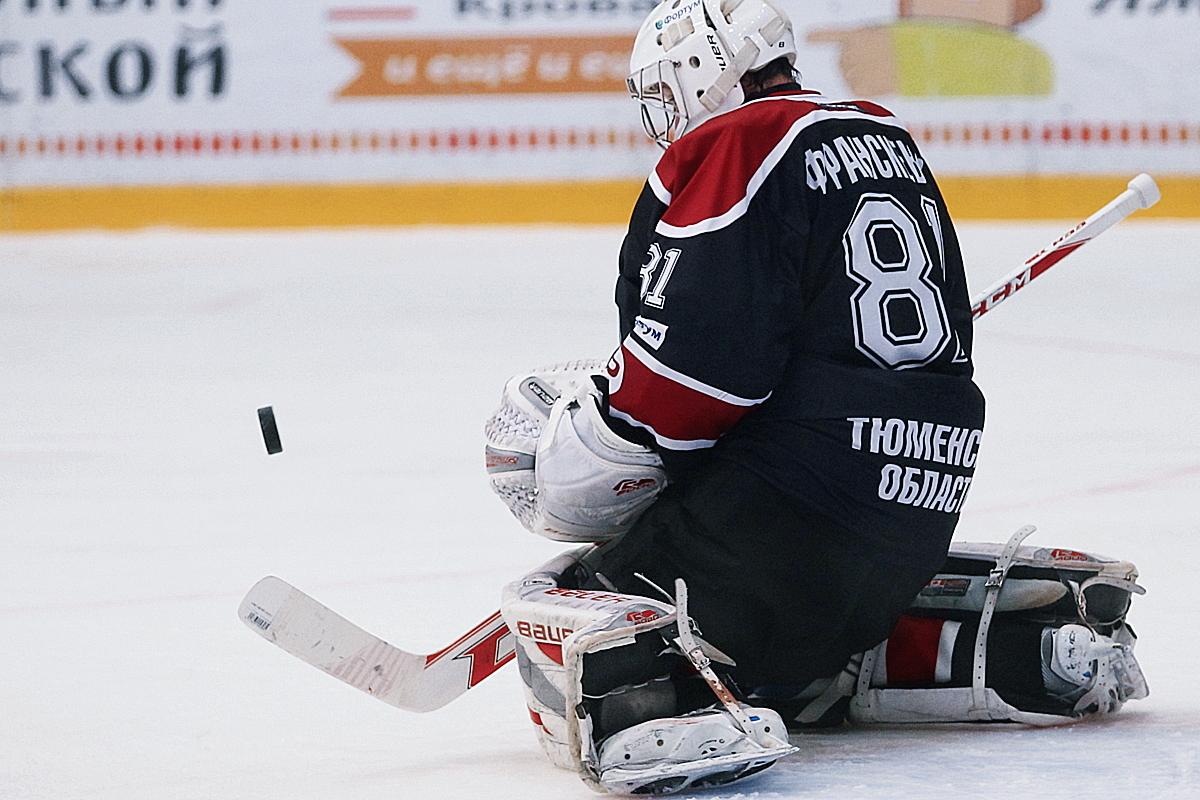 Тюменский хоккейный клуб «Рубин» проиграл первую игру вновом сезоне