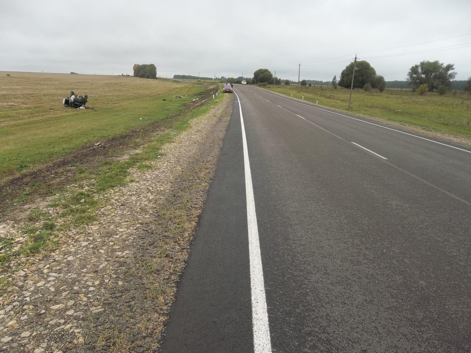 ДТП под Тулой: шофёр «Тайоты» скончался вреанимации