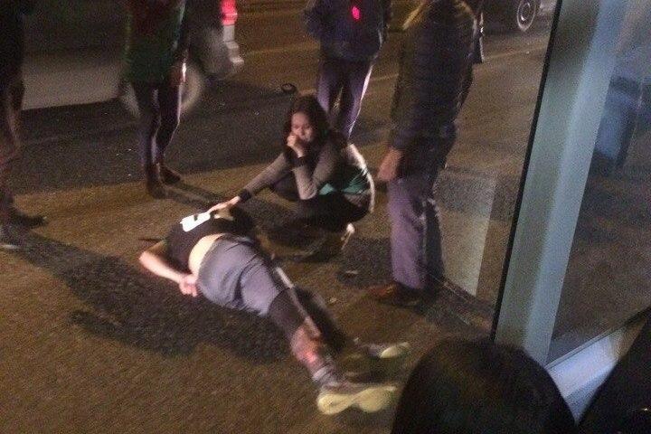 ВПерми иностранная машина сбила на«зебре» 16-летнего подростка