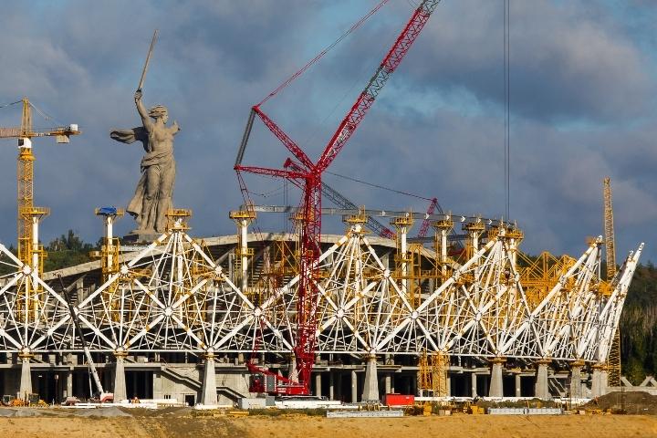 «Волгоград Арена» лидирует вголосовании зазвание лучшего стадионаЧМ