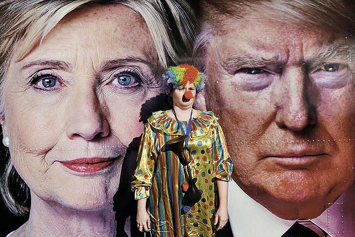 Соперничество кандидатов порой похоже на клоунаду, но именно один из них встанет во главе самой могущественной страны мира.