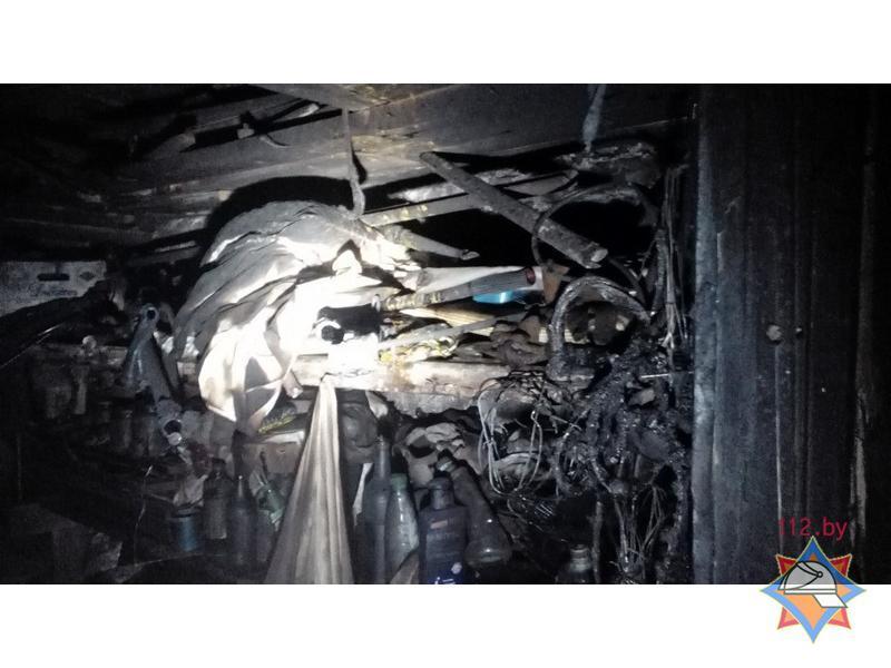 В Вилейке из-за пожара в жилом доме эвакуировали 34 человека Фот: МЧС