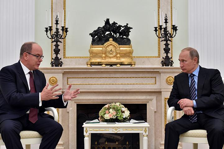 Hикогда в истории отношения России и Монако не были лучше, чем сегодня