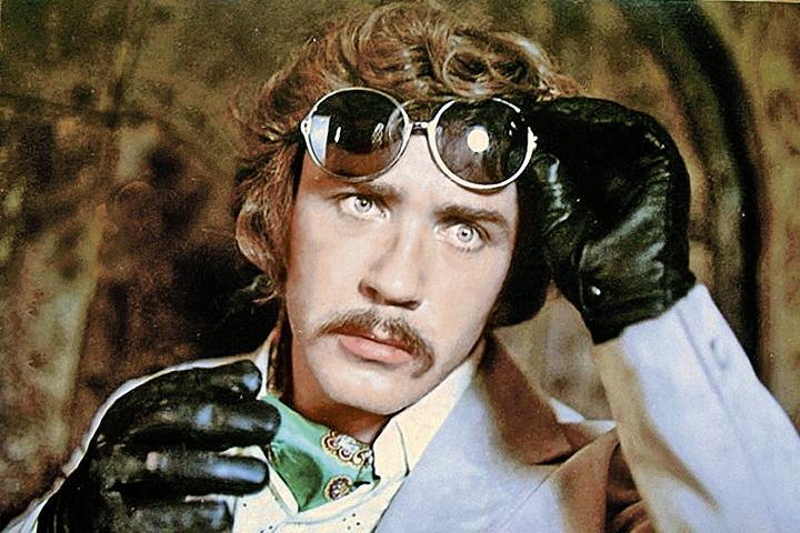 В роли Жоржа Милославского, «Иван Васильевич меняет профессию», 1973 год.