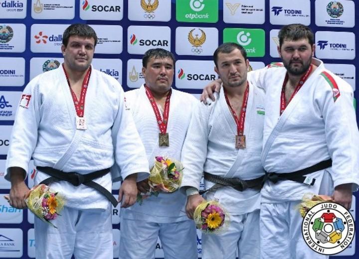 Узбекистан одержал победу 7 наград в 1-ый день Гран-при подзюдо