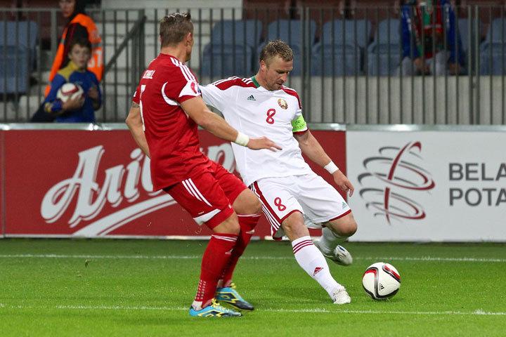 2018, группа А. Беларусь— Люксембург 1:1. Удаление непомогло