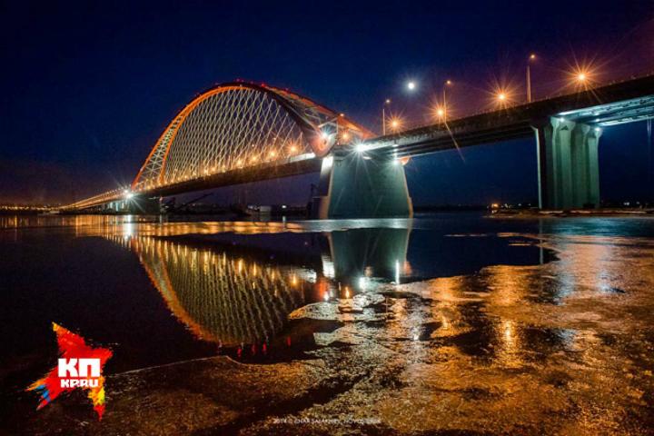 Бугринский мост через реку Обь в Новосибирске признан одним из лучших в мире
