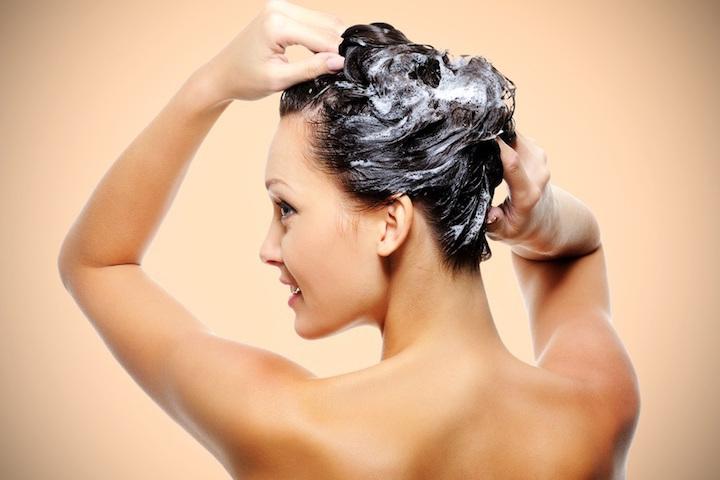 Частое мытье высушивает кожу головы