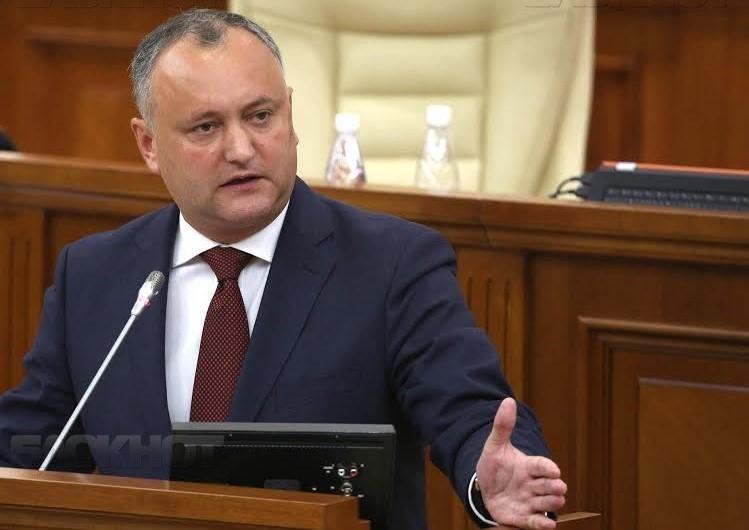 Игорь Додон поддержал оппонента