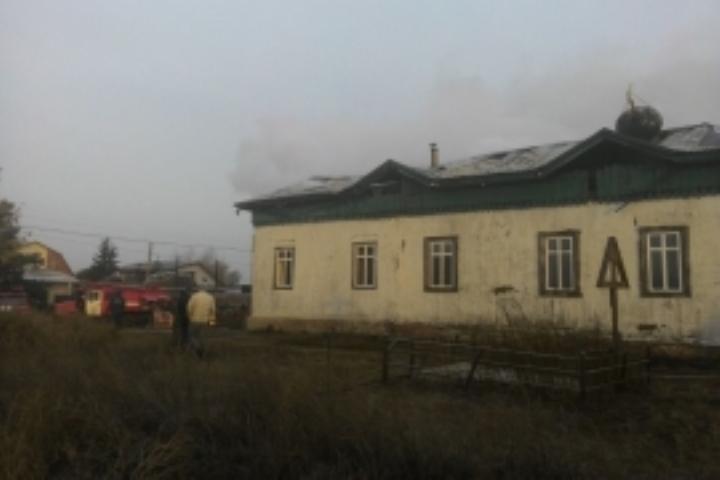 Сельский храм зажегся вОмской области