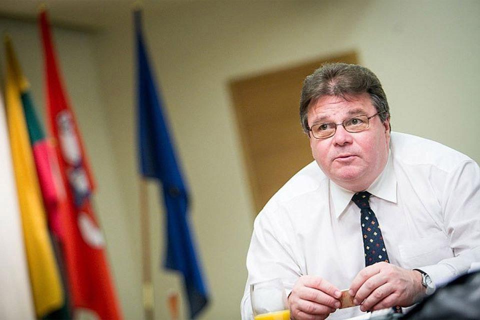 Глава МИД Литвы Линас Линкявичюс. Фото: с сайта focus.ua