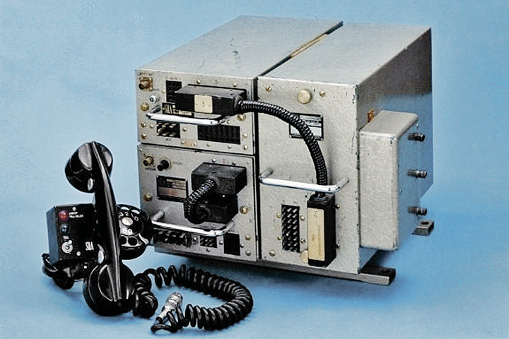 Так выглядел шведский SRA/Ericsson MTA - аппарат, с которого все начиналось. 1956 год