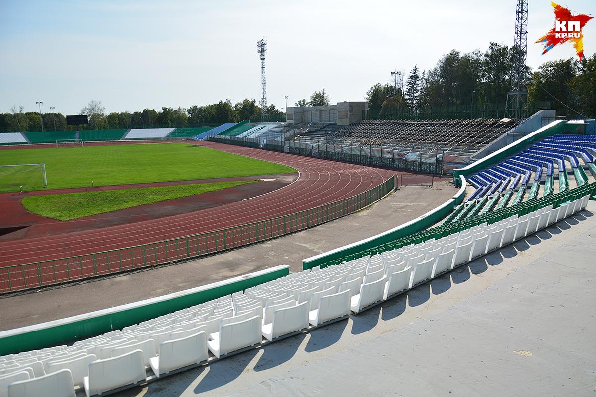 Нареконструкцию стадиона им.Ленина истратят еще 60 млн руб.