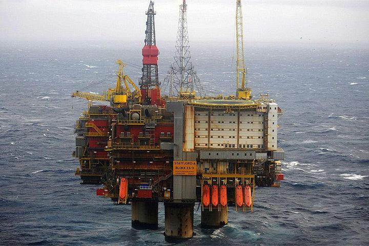 Норвежский нефтегазовый гигант Statoil приостановил добычу на платформе Statfjord A из-за пожара. Фото: с сайта maritime-executive.com