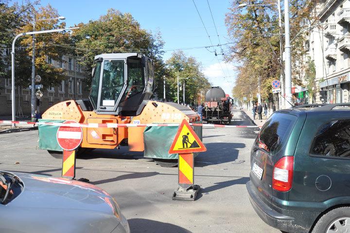 В связи с ремонтом дорог кишиневские таксисты отказываются ехать в центр.