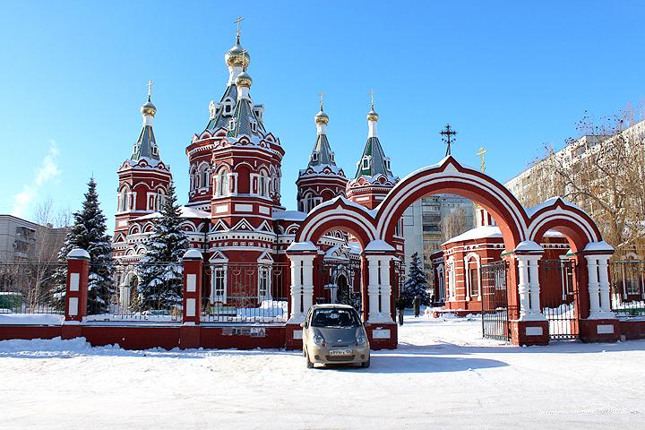 ВВолгограде уКазанского храма построят фонтан за2,9 млн. руб.