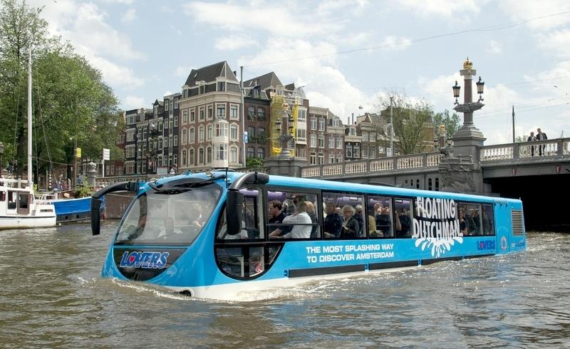 Диковинный транспорт уже вовсю применют в Европе. Фото: Weekendtour