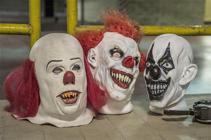 """""""Клоуномания"""" продолжает будоражить общественность Дании. Фото: с сайта fishki.net"""