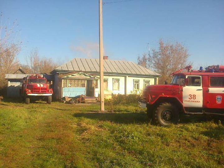ВВоронежской области сгорел дом спечкой: погибли мать исын