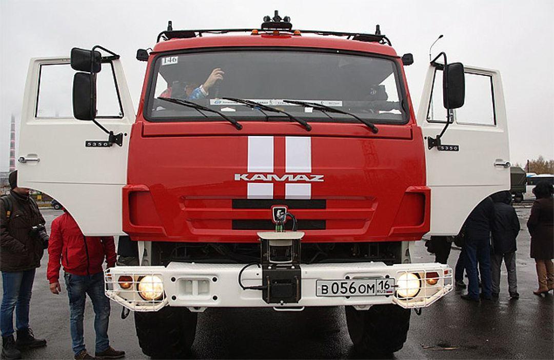 «КамАЗ» в следующем 2017г. будет возить грузы между заводами при помощи беспилотников